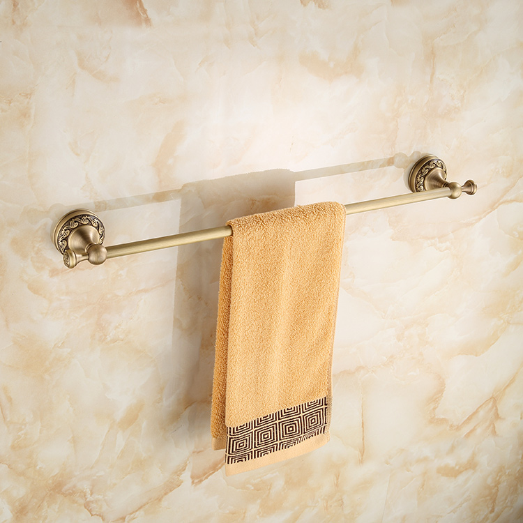 700Brass Single Towel Bar, Double Towel Bar, 45cm, 50cm, 60cm ...