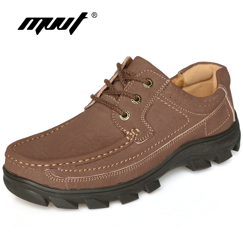 2017 Brand Genuine leather mens shoes comfort soft leather casual shoes men flats Top qu ...