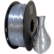 Silk Silver 3D Printing PLA Filament 1.75mm 1KG Material Best Seller Metal Bronze Silky Shiny For Print