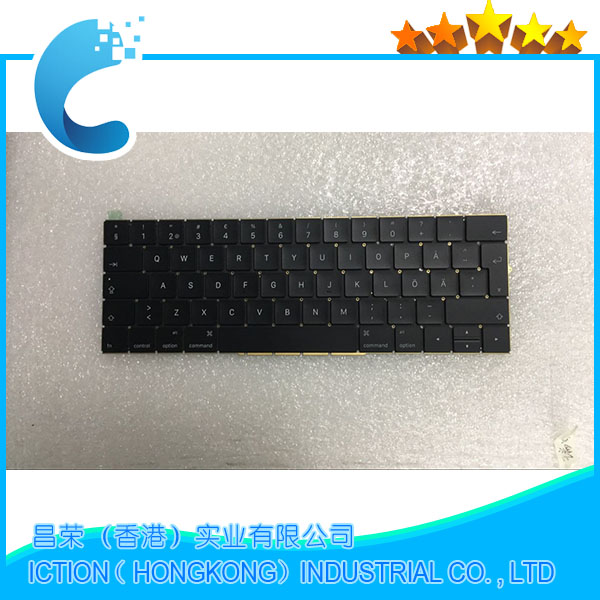 купить Original New A1708 Keyboard Sweden Swedish for Apple Macbook 13.3