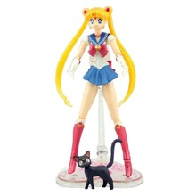 Pretty Guardian Sailor Moon 20th Anniversary Simple Style Hero 6″ Figure NIB Free Shipping