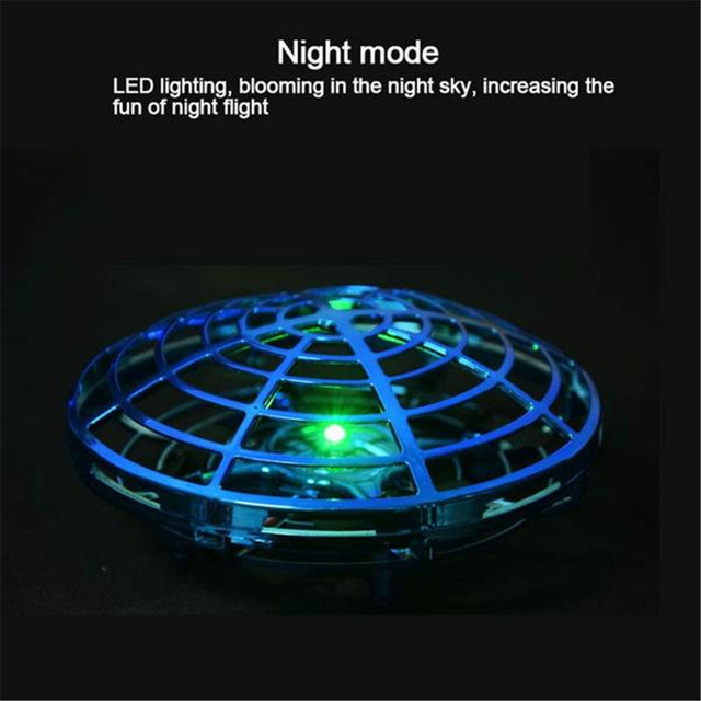 Anti collision Flying Helicopter Magic Hand UFO Ball Aircraft Sensing Mini Induction Drone Kids Electric