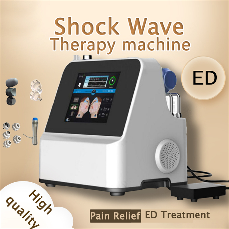 Extracorporeal Shock Wave Therapy Equipment For ED Treatments Pain Relief Therapy Machine