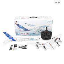 Wltoys Xk A120 Airbus A380 Model Remote Control Plane 2.4g 3ch Epp Rc Airplane Fixed-wing Rtf Rc Wingspan Toy ZLRC
