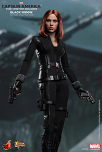 Hottoys1/6th scale Scarlett Johansson Black Widow Ver3.0 Captain America The Winter Soldier 12″ action figure doll Model toy