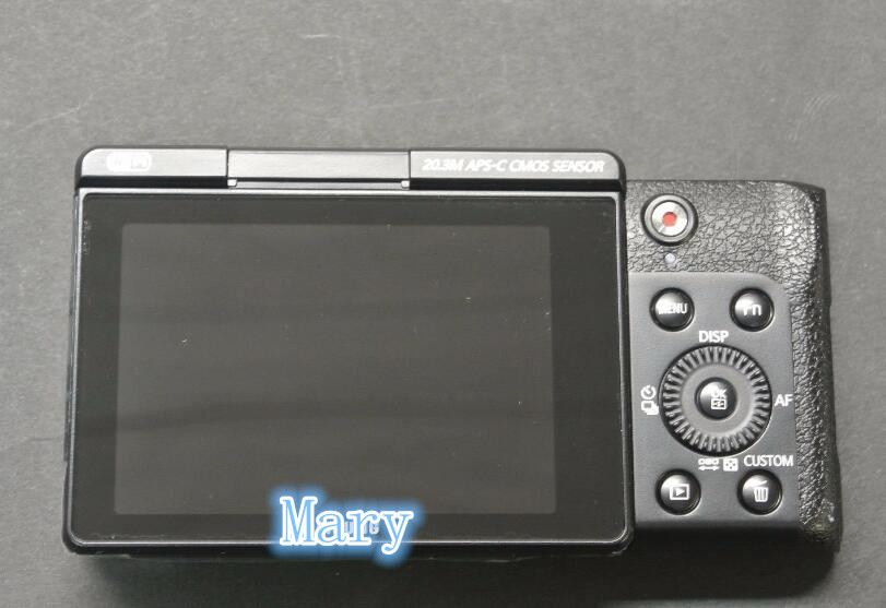 Original Back Cover Rear Cover with LCD button flex For Samsung NX3000 Camera Replacement Unit Repair Part(Black)