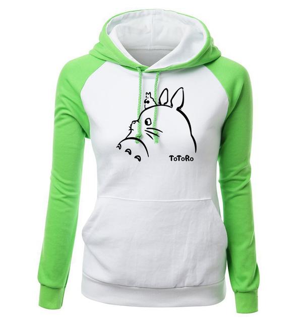 Sudadera con capucha de algodón para mujer My Neighbor Totoro