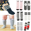 Cotton Cute Animals Sock For Girls Boys Kids Knee High Leg Infantil Menina Socks Baby Girls Toddler Children Chaussette