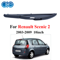 Rear Wiper Blades For Renault Scenic 2 2003-2009 Car 10inch  Rear Wipers Windshield Accessories
