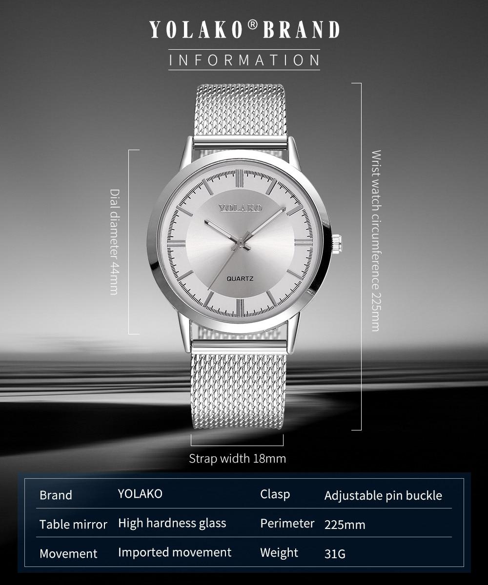 Fashion 2018 Watch quartz-watchHot fashion - Կանացի ժամացույցներ - Լուսանկար 2