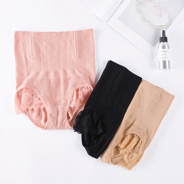 b61273d961f8d Waist trainer shapewear butt lifter Slimming Belt strap body Lace Sexy  Lingerie Control Pants women s panties