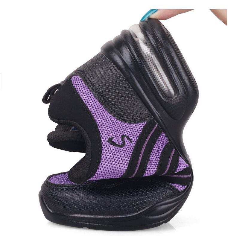 Nuevo 2017 Zapatillas de baile mujeres Jazz hip hop Zapatos salsa  zapatillas para la mujer tamaño 41 42 tamaño grande Primavera Verano  Zapatillas de baile ... 6f77e3ec75c