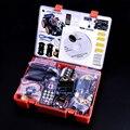 Новейшие Интеллектуальные и Образования Игрушка Автомобиль Для Arduino Starter kit с учебник