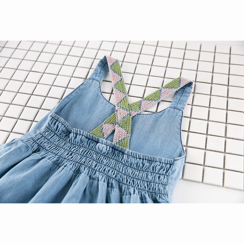 HTB1OewrQFXXXXXfaXXXq6xXFXXXd - New Girls Dress 2018 Casual Summer Style Bull-puncher Dresses Cotton Kids Clothes Backless Denim Dress  Shoulder-Straps 3-7Y