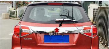 Cho Suzuki Vitara 2016-2018 Rear Trunk Cổng Sau Trim Door Molding Khởi Động Trang Trí Bezel Bìa Bên Ngoài trang trí Auto Phụ Kiện