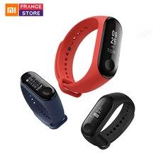 Global Version Xiaomi Mi Band 3 Smart Band Wristband Bracelet Mi Band 2 Upgrade Display Miband 3 Fitness Tracker Waterproof