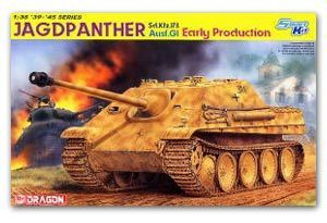 Dragon model 6458 1 35 scale Sd Kfz 173 Jagdpanther Ausf G1 Early Production