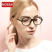 NOSSA Women S Fashion Spectacle Frame Prescription Eyewear Frames Female Clear Lens Glasses Office Lady Myopia