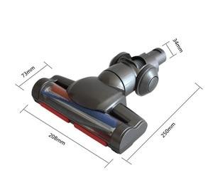 Image 3 - ממונע רצפת שטיח מברשת דייסון V6 הדק שואב אבק חלקי דייסון שואב חשמלי מברשת ראש החלפת אביזרים