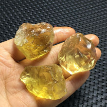 100g NATURAL CITRINE QUARTZ CRYSTAL POINT HEALING FROM BRAZIL