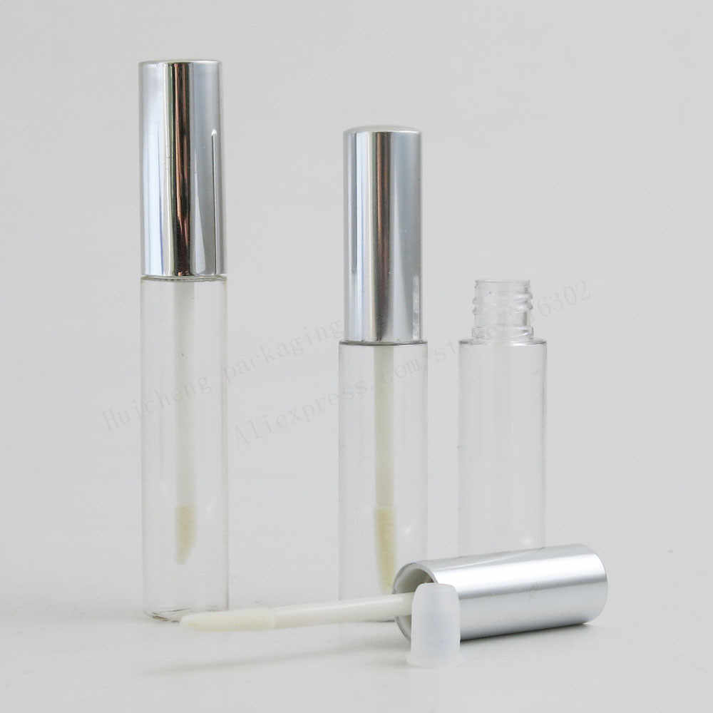 100X8 Ml 10 Ml Kosong Tabung Lipstik Lip Balm Tabung Lipstik Wadah Lipstik Botol Lip Gloss Tube/ sikat/Cap