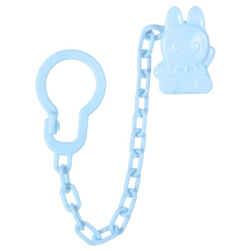 1 Pcs פלסטיק תינוק תינוקות פעוט Dummy מוצץ אביב מוצץ פטמת קליפ שרשרת מחזיק רצועה