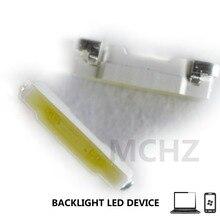 500PCS/Lot JUFEI SMD LED 020 Mobile Phone Backlight Bar 3V 0.1W Cool white For TV Lamp beads