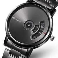 Reloj de moda para mujer, relojes para hombre, relojes creativos de acero inoxidable para hombre, reloj de pulsera de lujo para hombre reloj para mujer bayan saat