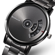 WoMaGe Fashion Watch Men Watches Stainless Steel C