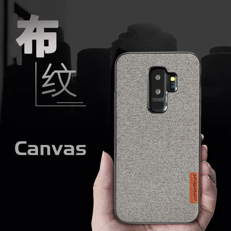 Canvas Phone Case For Samsung Galaxy 1