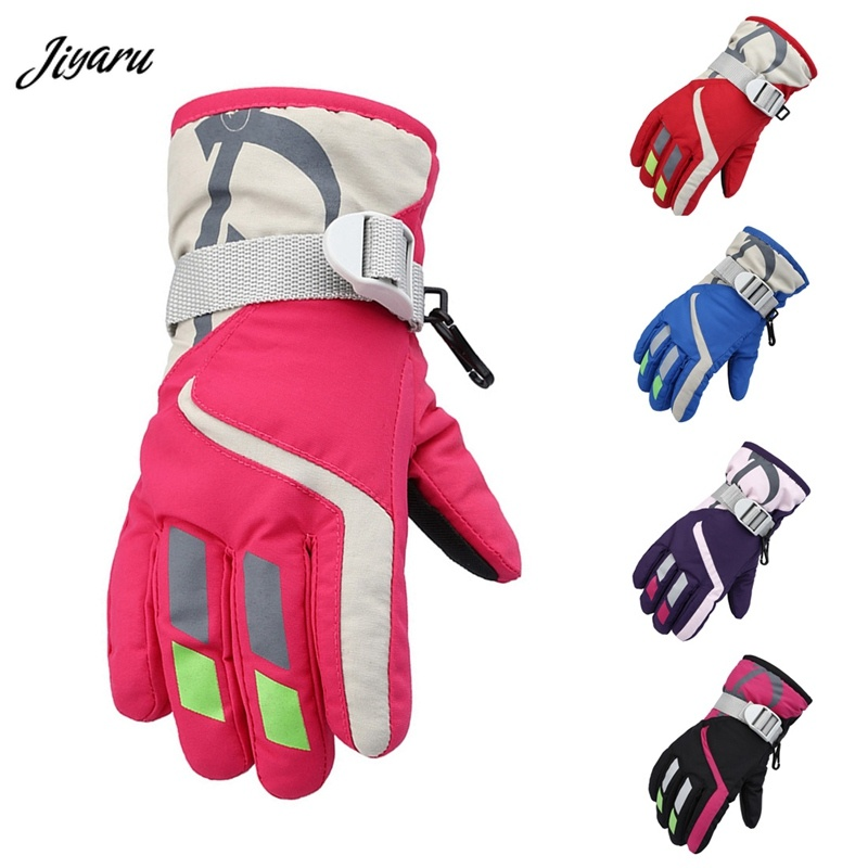Baby Kids Mittens Winter Snow Gloves for Children Newborns Waterproof Windproof Warm Snowboard Gloves Girls Boys Baby Gloves