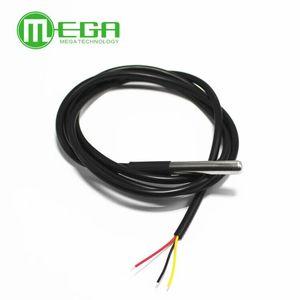 Image 3 - 100 個ステンレススチールパッケージ防水DS18b20 温度プローブ温度センサー 18B20 1 メートル