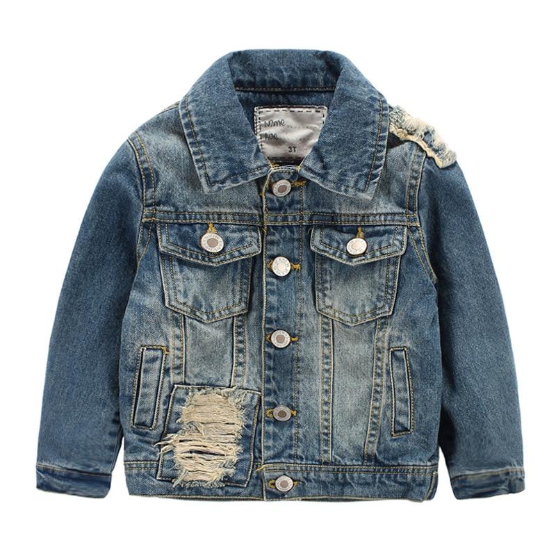 Popular Baby Boy Denim Jacket-Buy Cheap Baby Boy Denim Jacket lots ...