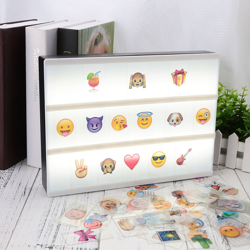 все цены на DIY Colorful Lighting Letters & Cards & Signs & Numbers Night Lamp Holiday Decor Total Cinema Lightbox Letters For A4 Light Box онлайн