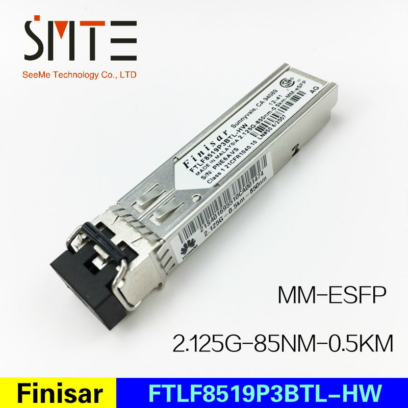 Finisar FTLF8519P3BTL-HW  Multi-mode Module  2.125G-85nm-0.5km-MM-eSFP