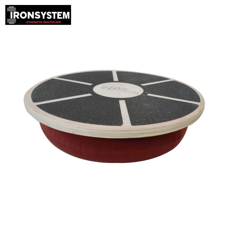 Balance Board Knee Stability: Wooden Exercise Physical Fitness 360 Rotation Balance