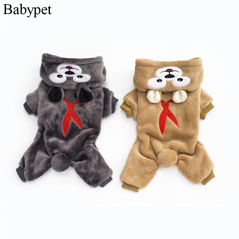 S M L XL XXL pet dog jumpsuit dog cat winter boy dog clothing for puppy dog clothes costume pet products supplies