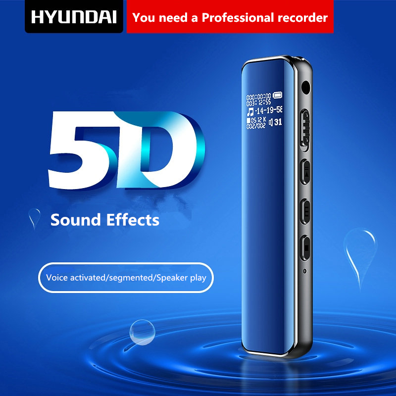 Yescool K609 8G Professional Digital audio Voice Recorder Voice Activated Noise Reduction Dictaphone Recording With MP3 PlayerYescool K609 8G Professional Digital audio Voice Recorder Voice Activated Noise Reduction Dictaphone Recording With MP3 Player