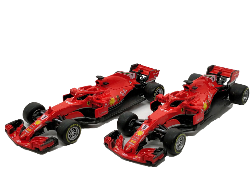 BBurago 1:43 F1 2018 SF71H Formula One Racing Car Diecast Model Car ixo 1 43 courage oreca lc70 racing mansle michelin racing car model