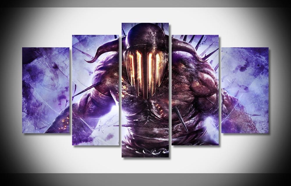 7025 Dios De La Guerra Ascensión Hades Arte Púrpura Diablo