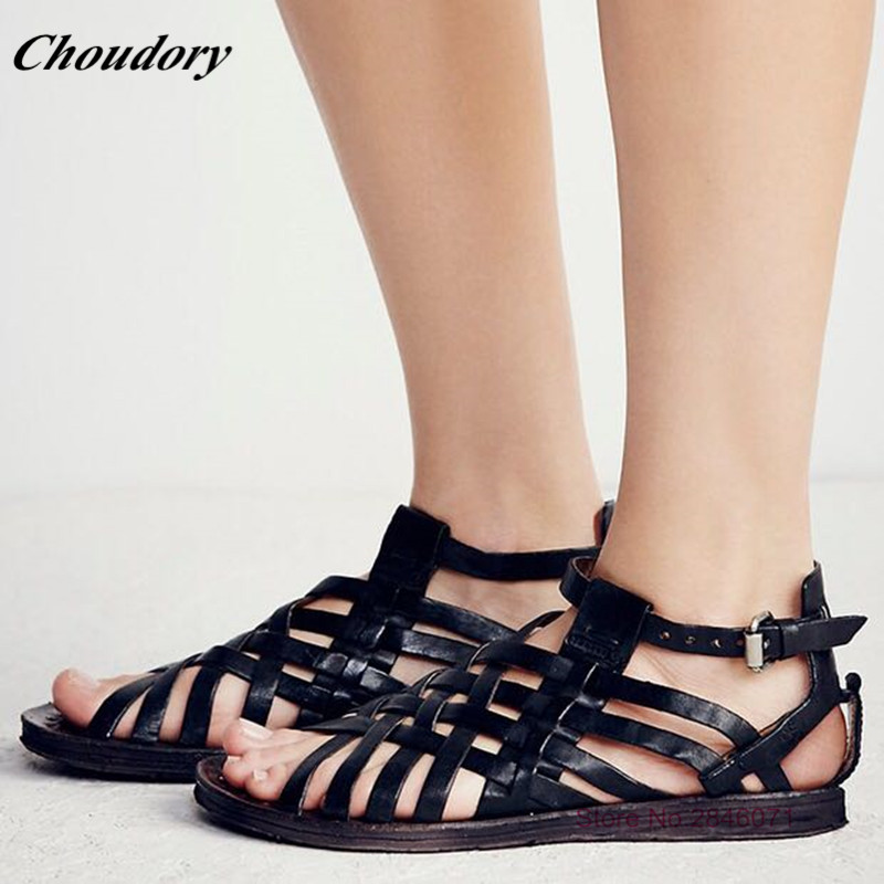 2017 Woven Straps Summer Platform Sandals Buckle Strap Sandalia Feminina Open Toe Fashion Ladies Shoes Leisure Flat Beach Shoes  miquinha summer fashion casual shoes women sandalia feminina open round toe buckle strap square heel shoes sexy ladies sandals