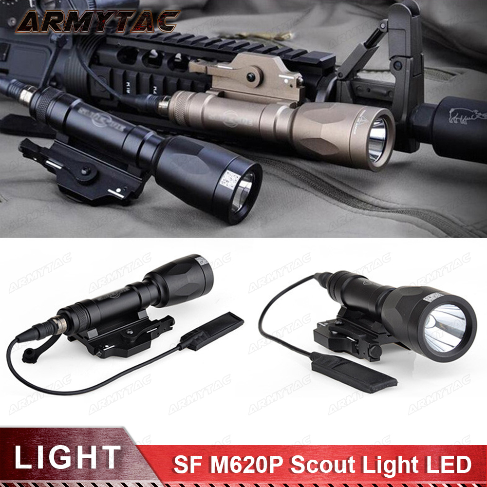 M620P Tactical Scout Light LED Weapon light Full Version Weapon Flashlight handheld Spotlight Weapon light tactical light moose minions 58201 миньоны фигурка гадкий я 3 в пластиковом шаре