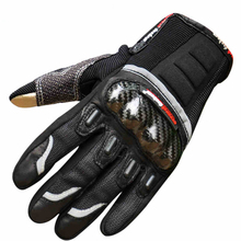 2015 newest touch screen motorcycle gloves motos motocross luvas motorbike moto atv guantes motocicleta carbon protection M~ XXL