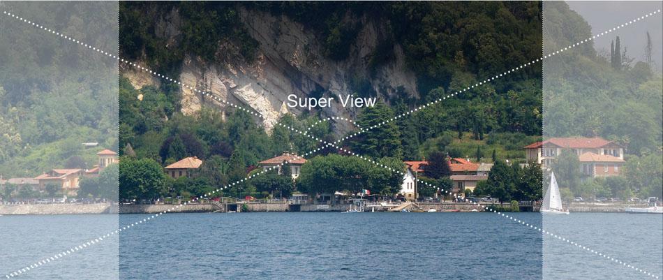 8 super view Sport camera