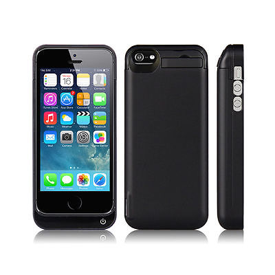 High quality adapter 4200mAh External power bank Charger pack backup battery case for iphone SE 5