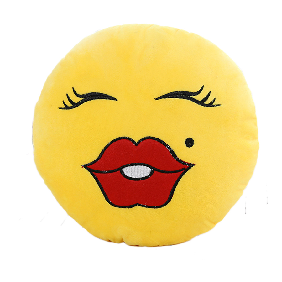 Aliexpress Com Buy Rubihome Decorative Smile Kiss Emoji