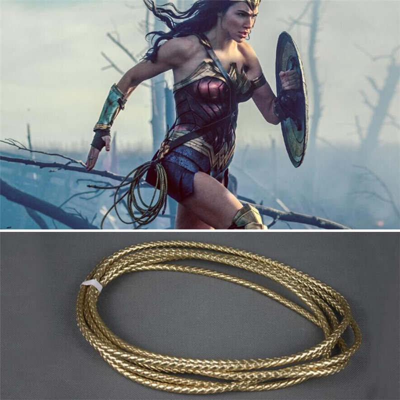 Movie Wonder Woman Truth Lasso Truth Princess Diana Cosplay Props Rope Weaponry Accessories