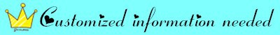custom information banner