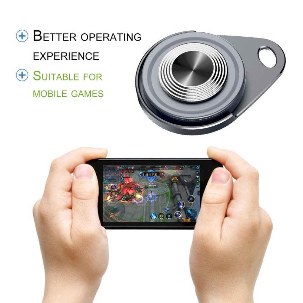 Mobile Phone Touch Screen Suction Cup Game Controller Sucker Joystick Precise Control For Smart Phone Tablet PC Game Apps image