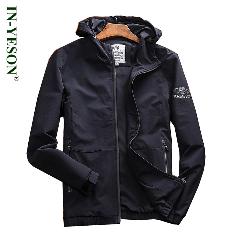 New Fashion Hooded Hiking Jacket Men Spring Autumn Breathable Windproof Camping Climbing Outdoor Game Sports Jacket Male Coat brand new autumn winter men hiking pants windproof outdoor sport man camping climbing trousers big sizes m 4xl free shipping